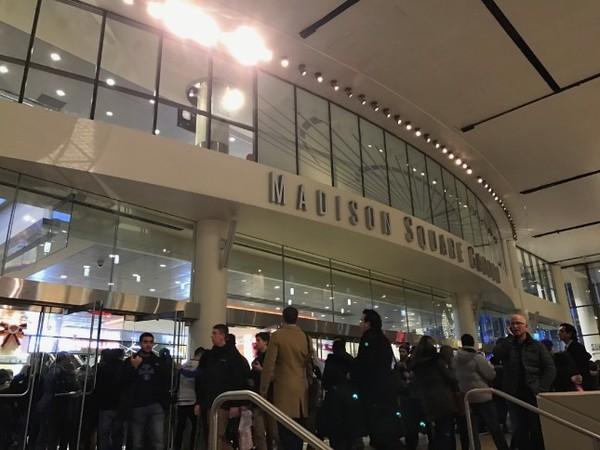 Madison Square Garden entrée intérieure