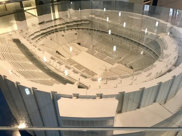 Madison Square Garden maquette du stade