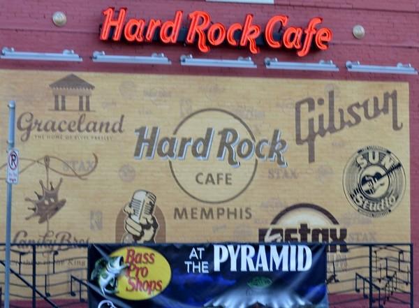 Hard Rock Cafe Beale Street Memphis
