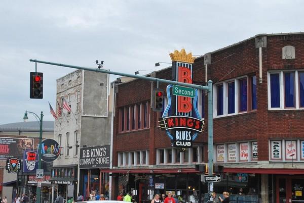 BB King Blues Club Beale Street Memphis