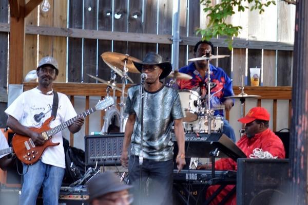Musiciens de rue Beale Street Memphis