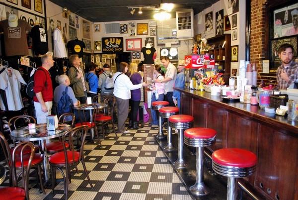 Cafe Sun Studio Memphis