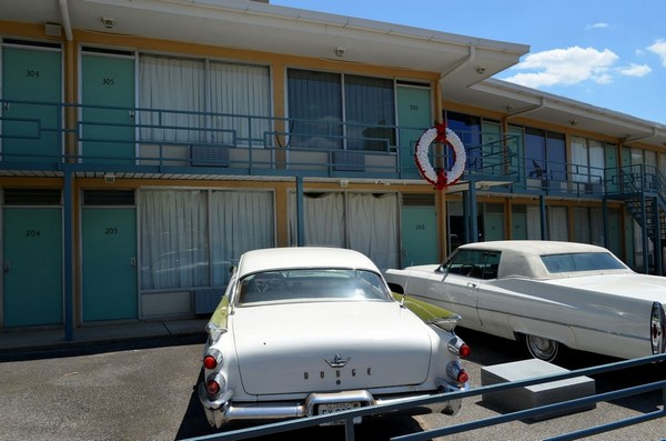 Chambre de Martin Luther King Lorraine Motel Memphis