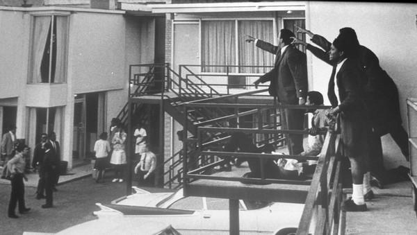 Assassinat de Martin Luther King Lorraine Motel Memphis