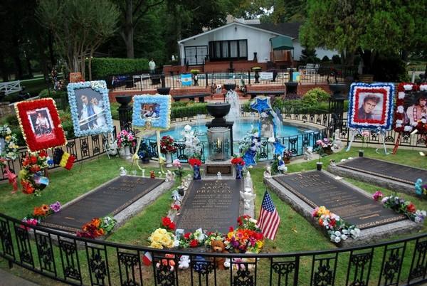 Le cimetière de Graceland