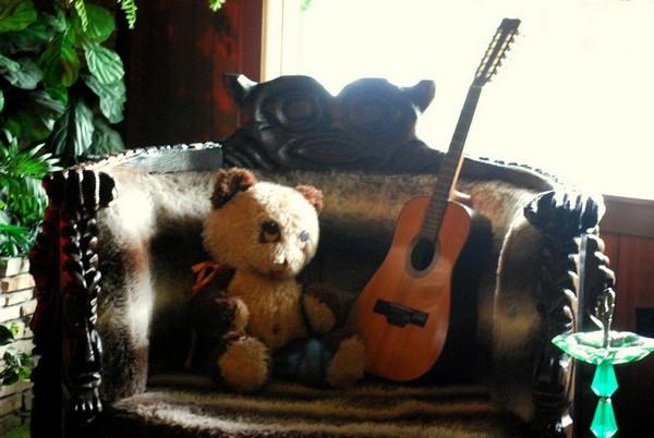 Fauteuil préféré de Lisa Marie Presley Jungle Room Graceland