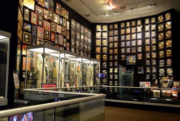 Salle des trophées Graceland
