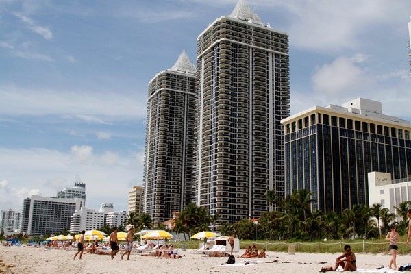 Front de mer plage Miami Beach