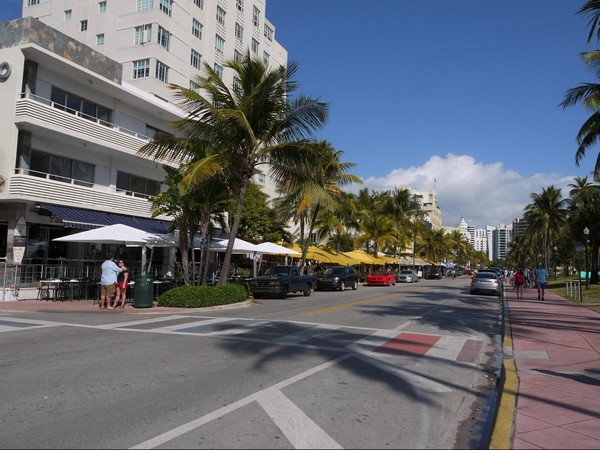 Ocean Drive Miami Floride
