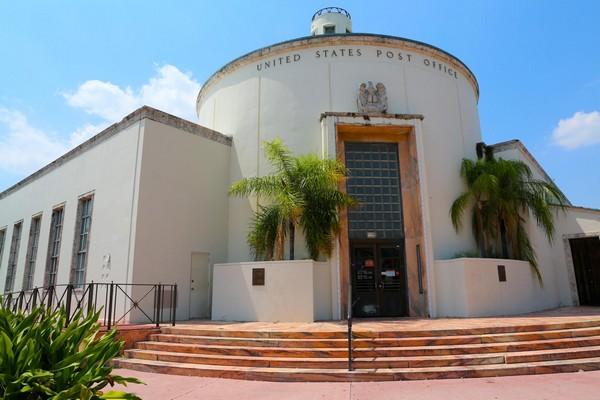 The United States Post Office Art Deco District Miami