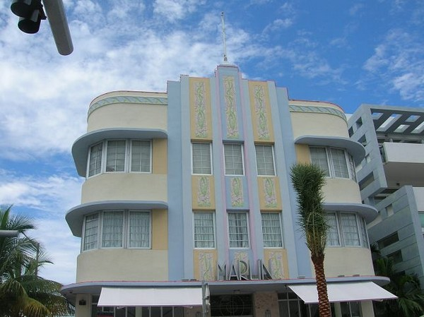 Art Deco District Miami Floride
