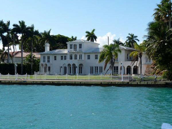 Villa de Al Pacino dans Scarface Virginia Key Miami
