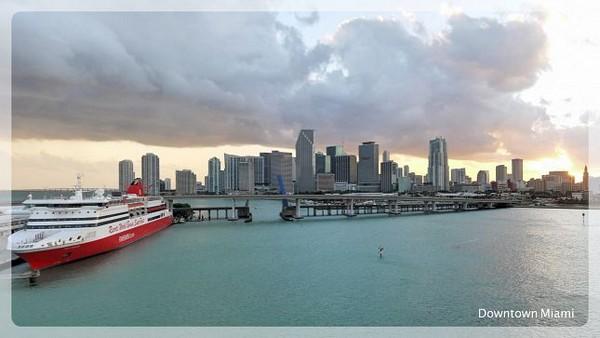 Downtown Miami Floride