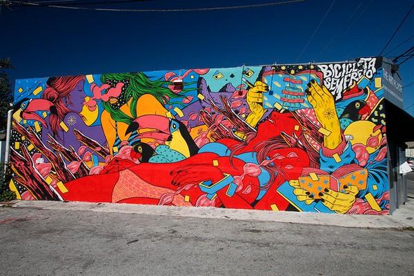 Murals Wynwood Art District Miami