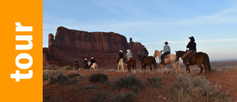 Monument Valley balade à cheval
