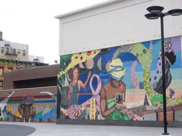 Fresque à Harlem Manhattan New York