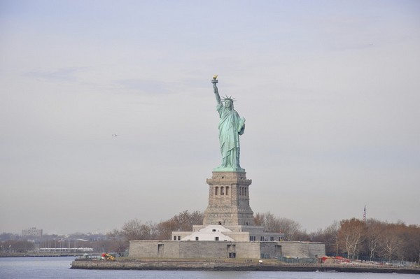 La Statue de la Liberté vue depuis le Ferry de Staten Island