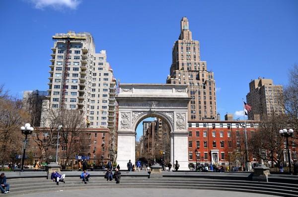 Standford White Arch Washington Square Park Manhattan New York