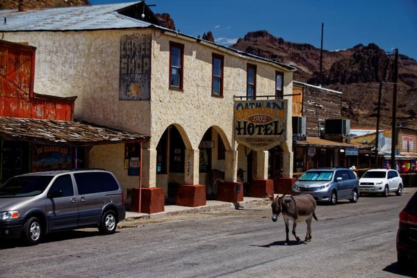Oatman Hotel Arizona