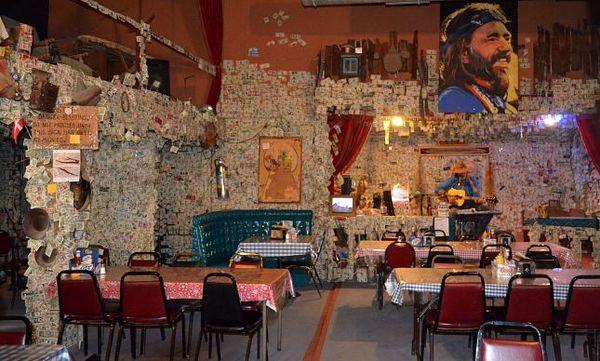 Salle restaurant Oatman Hotel Arizona