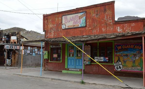 Boutique Oatman Route 66 Arizona
