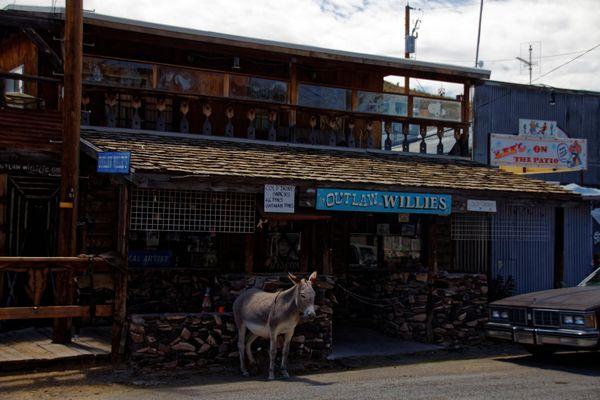 Restaurant Oatman Route 66 Arizona