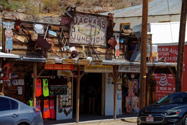 Boutiques Oatman Route 66 Arizona