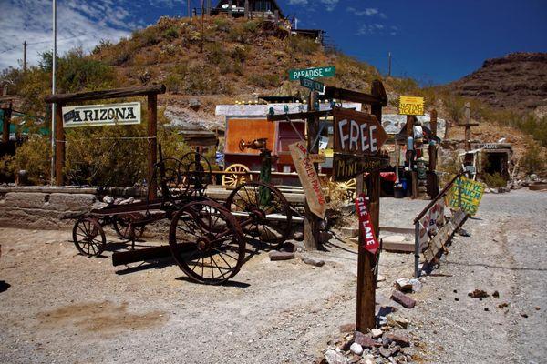 Mine Oatman Route 66 Arizona