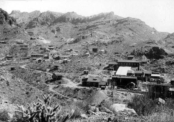 Oatman en 1921