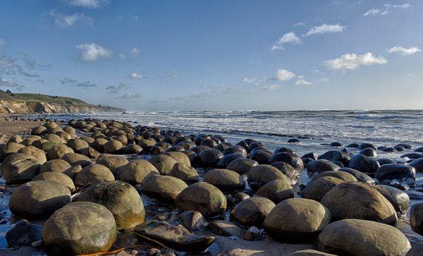 Bowling Ball Beach Pacific Coast Highway Californie