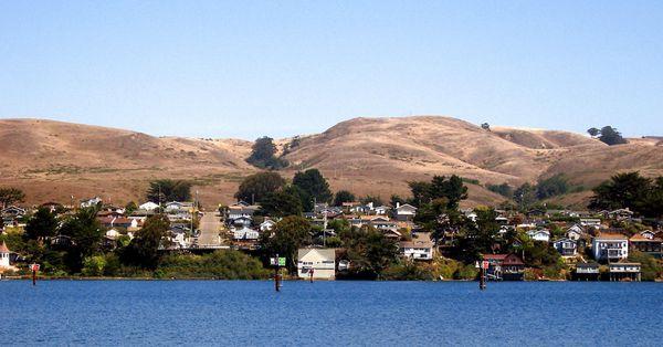 Bodega Bay Pacific Coast Highway Californie