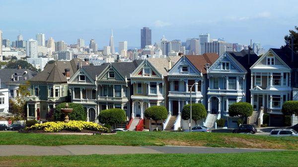 Painted Ladies San Francisco Californie