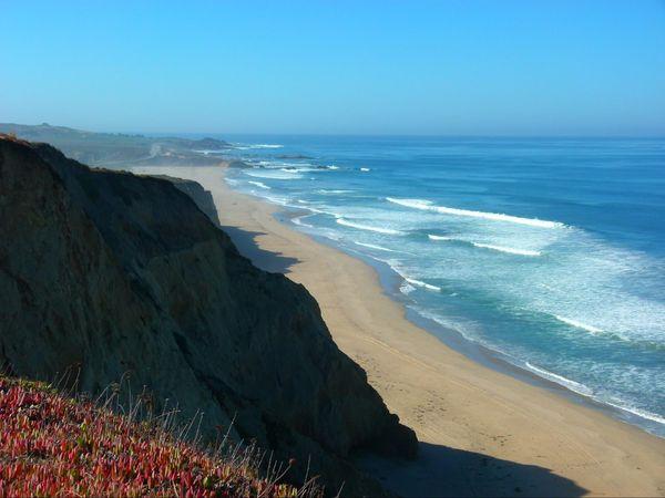 Pescadero State Beach Pacific Coast Highway Californie
