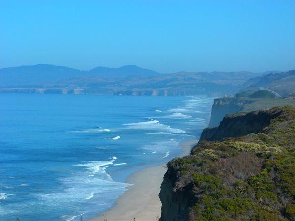 Pescadero State Beach Californie