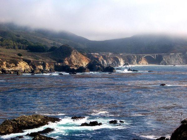 Big Sur Pacific Coast Highway Californie