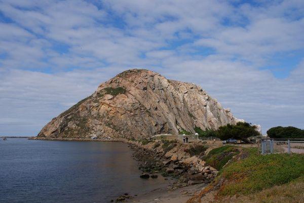 Morro Rock Pacific Coast Highway Californie