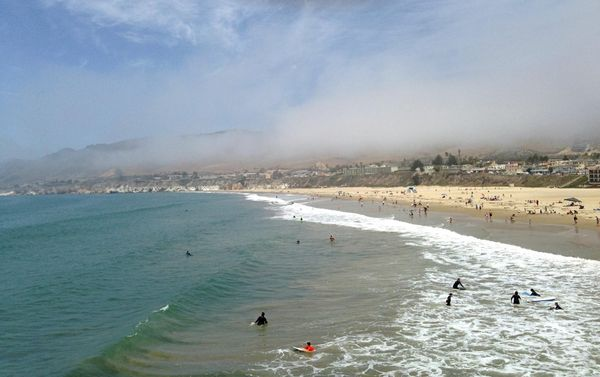 Pismo Beach Pacific Coast Highway Californie