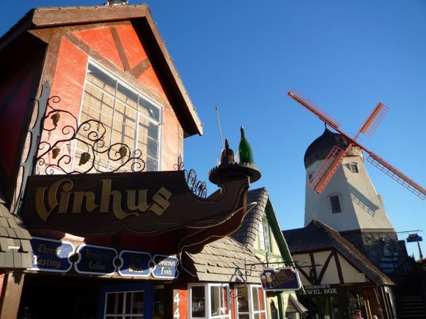 Moulin à vent Solvang Californie