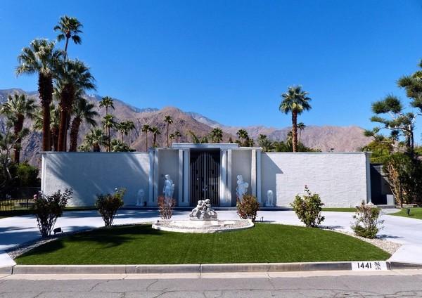 L'une des nombreuses maisons de Liberace Palm Springs