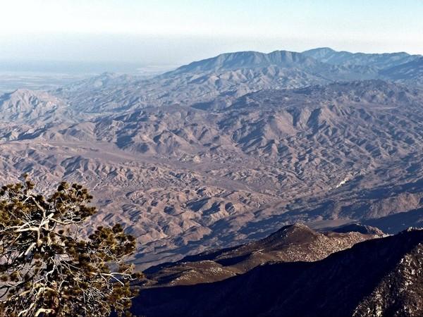 Vue depuis le Mount San Jacinto