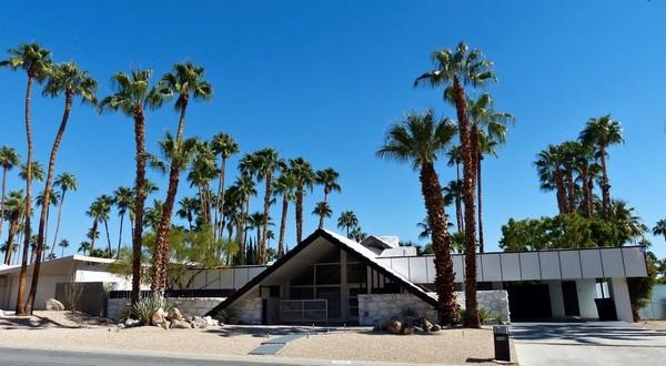 Architecture moderniste Palm Springs