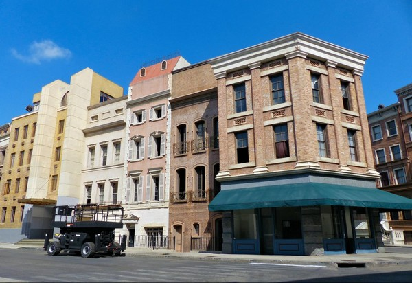 """Une rue """"New Yorkaise"""" Paramount Studios Hollywood"""