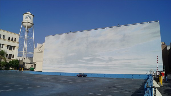 Blue Sky Tank Paramount Pictures Studio Hollywood