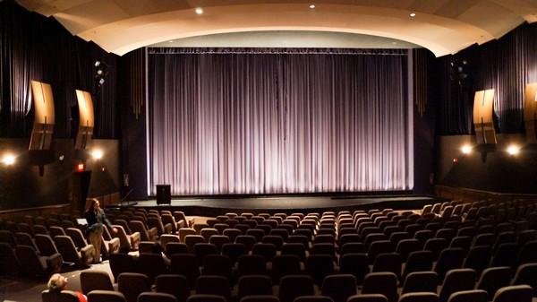 Intérieur salle Paramount Theatre