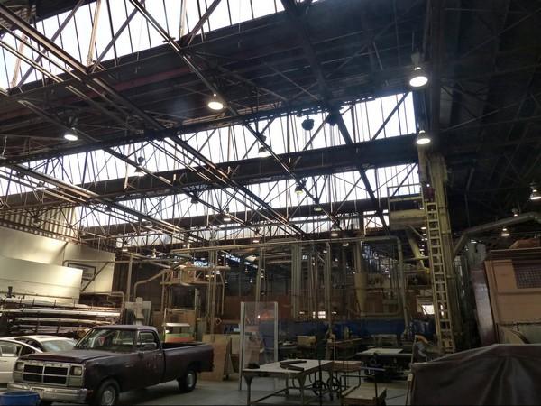 Atelier décors Paramount Pictures Studio