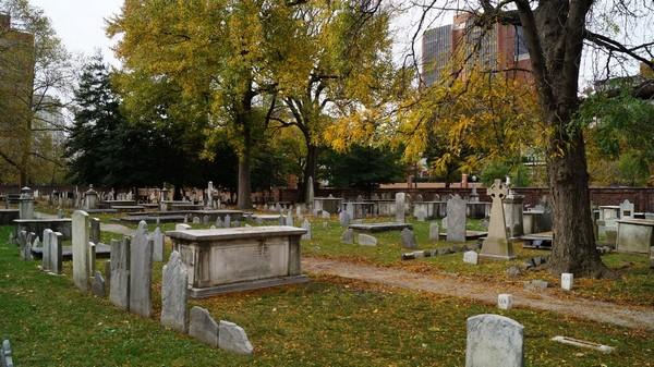 Christ Church Burial Ground Philadelphie
