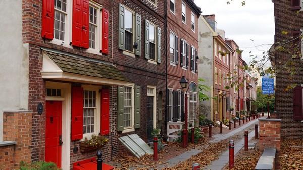 Elfreth's Alley Philadelphie