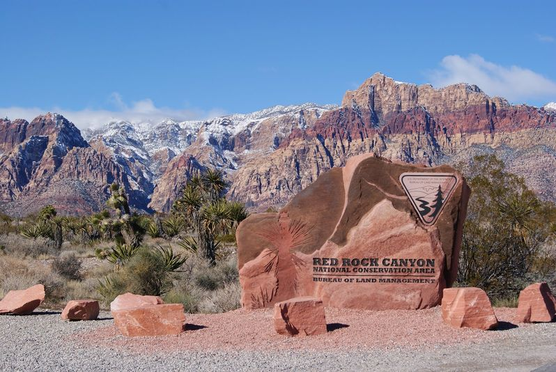 Red Rock Canyon National Conservation Area Nevada