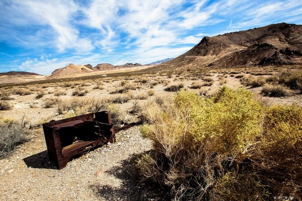 Rhyolite ville fantôme Nevada