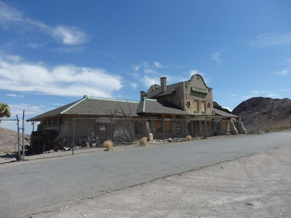 The Las Vegas & Tonopah Railroad Depot Rhyolite Nevada